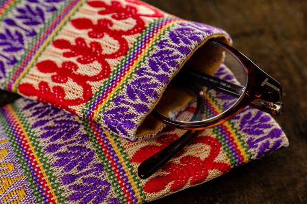 Damask cotton eyeglasses case - Cases, Cotton