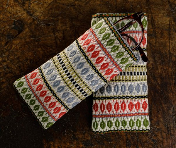 Multicolored cotton eyeglasses case - Cases, Cotton