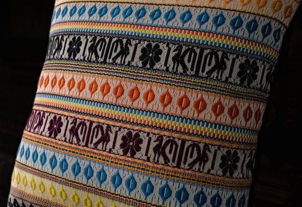 Cuscino cotone, cachemire e seta - Cotone, Cuscini, Misto cachemire, Misto seta